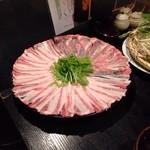 ブタリアンレストラン - 豚しゃぶ鍋
