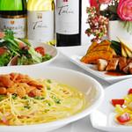 レストラン プリミエール - 生ウニのクリームパスタ