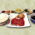 焼肉いつものところ - 国産フィレステーキ定食