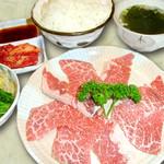 焼肉いつものところ - カルビ焼定食