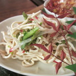 ナポレオン フィッシュ - 細切り豆腐の和え物