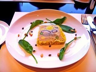 カフェ・トロワグロ - 野菜のテリーヌ