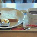 モスバーガー - 朝モス(トースト&コーヒー)