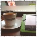 サンマルクカフェ - おはようさん、雨だけどホッとコーヒー(*^_^*)。