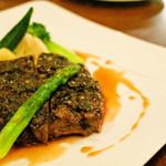 ビストロ ケー - 桜肉のタプナードソース①