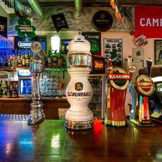 世界各国のビールを生樽で!