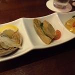 中国料理・琉球中華 琉華邦 - 前菜盛り合わせ。