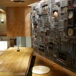 妙見石原荘 - 個室はオープンな半個室で閉塞感がなく、しかも通路からは見えない。