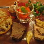 トワ・プティ・ルー - 料理写真:おまかせコース前菜盛り合わせ