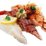 磯のがってん寿司 - 炙り三昧