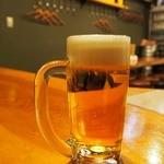 MARUICHI - 生ビールで乾杯