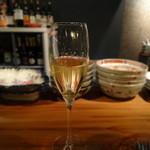 オステリア・コチネッラ - シャンパン