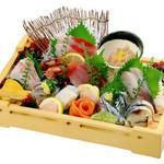 磯のがってん寿司 - おすすめ刺し盛り