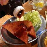 横浜商店 - 肉厚!浜商のハムカツ280円