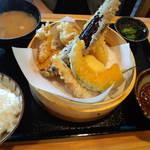 25848393 - 鳥天ぷら定食¥750