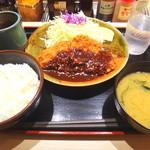 25850259 - 味噌ロースかつ定食