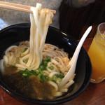 ジャムネシア 食堂 - 「油かすうどん」!うまっっ!!!!!!!! また、食べたい!!