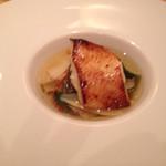 Shunjuuyurari - 銀鰈の西京焼き 湯葉のあんかけ