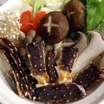 水明亭 - タラバ蟹鍋