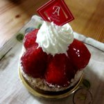 Sweets dining Angelique - 料理写真:イチゴタルト!