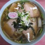 千渡食堂 - 料理写真:ちゃーしゅーラーメン 600円