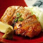 清流鶏 柚子胡椒焼