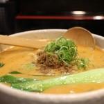 万代 - 胡麻辛味担々麺 840円。