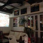 Timmy's Cafe - 大画面のプロジェクターで映画やってました〜(^.^)