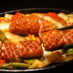 ソーヤ(ソーセージと野菜)