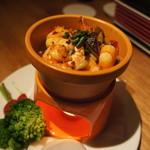 SoleiL - 東京野菜と海老と茸のアヒージョ