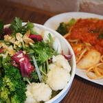 SoleiL - 東京野菜<トーキョーベジ>サラダと本日のおすすめパスタランチ