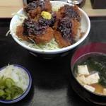 田中屋 - H26.4.2 マグロかつ丼(950円)