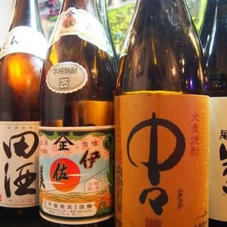 人気焼酎&人気の日本酒」を多数ご用意❗️