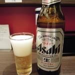 麺屋7.5Hz - ビールは小瓶(2014.03)
