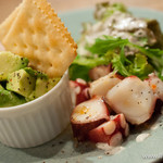 チャイロ - カレーと本日の惣菜3種、デザートのセット【2013年10月】