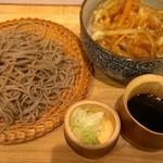 そば王 新宿本店 - ミニ丼とせいろセット
