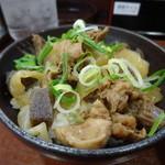 金の豚 - 牛すじ丼