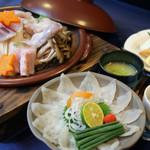 しゃらく - 料理写真:とってもお得なふぐ満足コースは5000円(+税)~