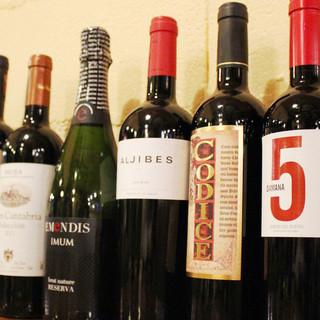飲み放題でもセレクトワインでも地中海料理とマリアージュ!
