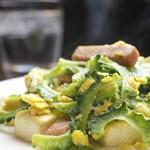 ダイニング絆和 - 県産食材を使用した、沖縄の郷土料理『ゴーヤーチャンプルー』