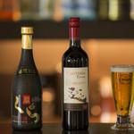 ダイニング絆和 - 泡盛をはじめ、ワインやビールなどが豊富に用意されています