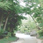 味喰笑 - ちゃんこ場へ庭2