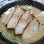 らー麺 武蔵 - 炙り味噌チャーシュー750円