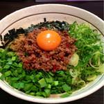 濃厚担々麺はなび - 台湾まぜそば 780円 (これより2014.04〜)