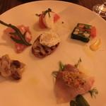 オステリア ボッカーノ - 冷たい前菜