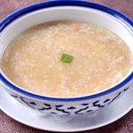 蟹肉と卵白のとろとろスープ 2~3名様
