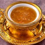 フカヒレと蟹肉入りとろみスープ・醤油味