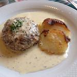 キャセロール - ハンバーグ(種マスタード)