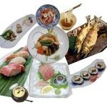 紀八寿司 - 3480円コース