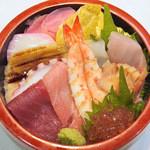 紀八寿司 - 上ちらし